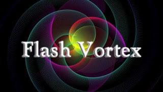 Membuat Text Berjalan dengan Flashvortex